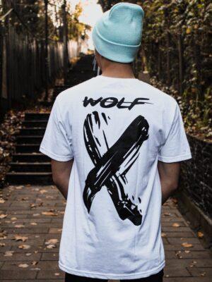 Polera Wolf – X Blanca X